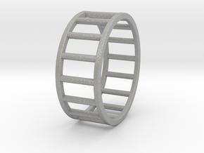 Albaro Ring Size-13 in Aluminum