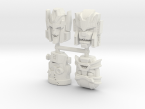 Headmonster Face 4-Pack (Titans Return) in White Strong & Flexible