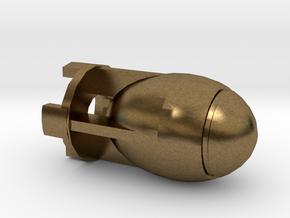 Fatman Bomb in Natural Bronze