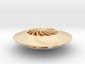 GalacTops // ANDROMEDA (Metal) in 14k Gold Plated