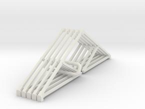 I1 Intermediate Truss in White Natural Versatile Plastic