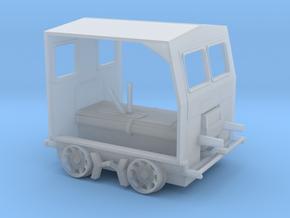 HO Scale (1:87) Fairmont S2 Speeder Car in Smooth Fine Detail Plastic