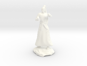 D&D Unarmed Bladeling Monk Mini in White Processed Versatile Plastic