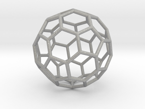 0024 Fullerene c60-ih Bonds/Truncated icosahedron in Aluminum