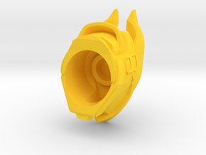 Osiris Bull Helm in Yellow Processed Versatile Plastic