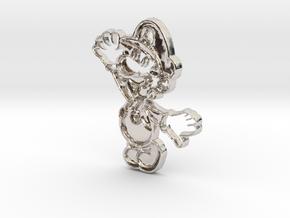 Paper Luigi in Platinum