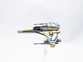 E-Wing Variant - Tri-Cannon in Frosted Extreme Detail