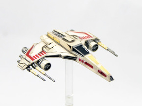 E-Wing Variant - Quad Cannon NXU 1/270 in Smoothest Fine Detail Plastic