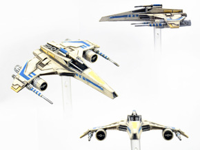 E-Wing Variant - Tri-Cannon 3pack 1/270 in Smoothest Fine Detail Plastic