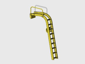 WING-X REBELL 1/29 EASYKIT DIORAMA LADDER in Frosted Ultra Detail