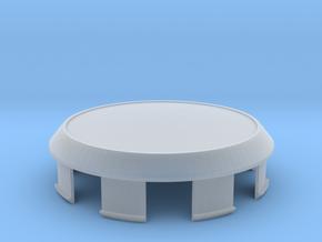 Center Cap for 15 Inch Enkei RPF1 in Smooth Fine Detail Plastic