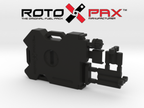 AJ10042 RotopaX Storage Pack - BLACK in Black Natural Versatile Plastic