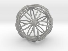 Icosasphere in Aluminum