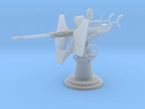 1/24 USN Oerlikon 20 mm Single Mk 4 in Smooth Fine Detail Plastic: 1:24