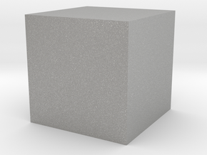 Material Sample 10mm Cube in Aluminum