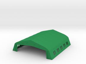 Bessonneau Hangar, 6-Bay in Green Processed Versatile Plastic: 1:288