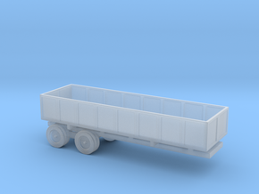 1/110 Scale M-35 Cargo Trailer in Smooth Fine Detail Plastic