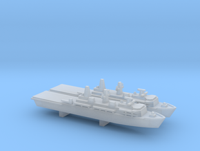 Albion-class LPD x 2, 1/6000 in Smooth Fine Detail Plastic