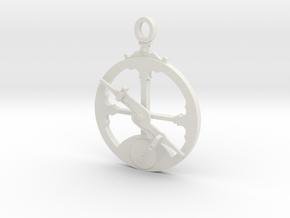 Mariner's Astrolabe  in White Natural Versatile Plastic