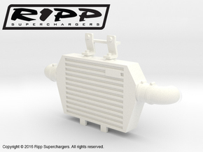 RS10003 Ripp Intercooler JK - WHITE in White Processed Versatile Plastic