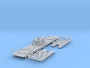 Borden Milk Car Z Scale in Smooth Fine Detail Plastic