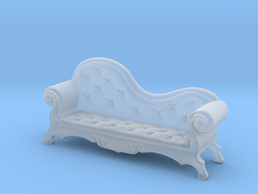 Victorian Chaise Lounge v4 in Smooth Fine Detail Plastic