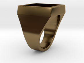"Ring Ø19mm ( 0,75"" ) in Polished Bronze"