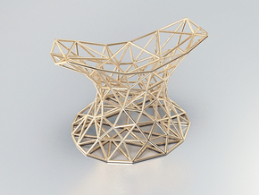NEStand in Natural Brass