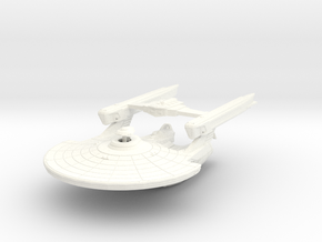 Uss Abrams 2500 in White Strong & Flexible Polished