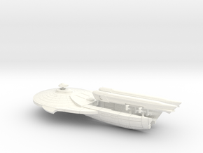 2500 Thufir destroyer in White Strong & Flexible Polished