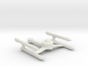 Gorn Ship (tos era) in White Strong & Flexible