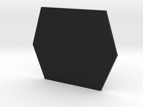 IF Rear Plate in Black Natural Versatile Plastic