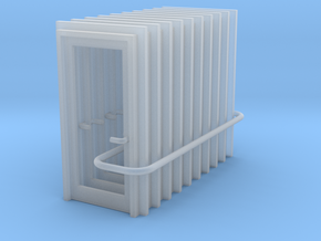 Door Type 1 - 900 X 2000 X 10 in Smooth Fine Detail Plastic: 1:148
