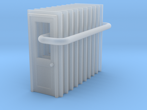 Door Type 3 - 900 X 2000 X 10 in Smooth Fine Detail Plastic: 1:148
