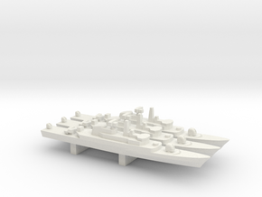 Alvand-class frigate (w/ C-802 AShM) x 3, 1/1800 in White Natural Versatile Plastic