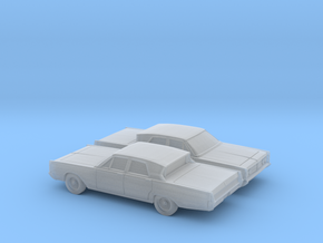 1/160 2X 1966 Mercury Breezeway Sedan in Smooth Fine Detail Plastic