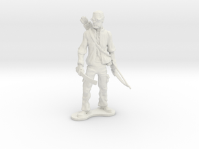 Old Man Hawkeye in White Natural Versatile Plastic