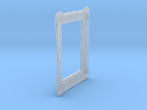 Miniature Picture Frame in Smoothest Fine Detail Plastic