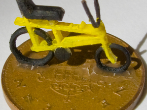 "OO (1:76) ""Chopper"" bike 4 pack in Frosted Ultra Detail"