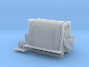HO scale Horizontal Drum Transit Mixer in Smooth Fine Detail Plastic