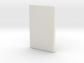 Rear Case in White Natural Versatile Plastic