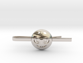 Nerd Tie Clip in Rhodium Plated Brass