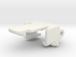 RG BK Transponder Bracket in White Strong & Flexible