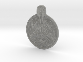 Odin Medallion in Metallic Plastic