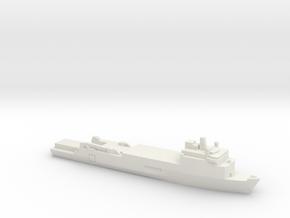 Foudre-Class LPD, 1/1800 in White Natural Versatile Plastic