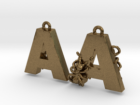 A Is For Ants in Natural Bronze