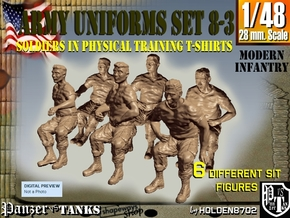 1-48 US Army Ph Tr SET 8-3 in Frosted Ultra Detail