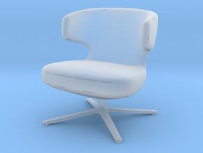 Miniature Petit Repos Chair - Antonio Citterio in Smooth Fine Detail Plastic: 1:48