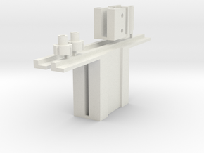 1:6 scale Hasbro HMMWV doors hardware  2 in White Natural Versatile Plastic