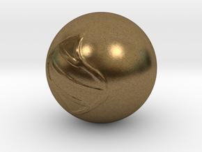 Mega Stone in Natural Bronze